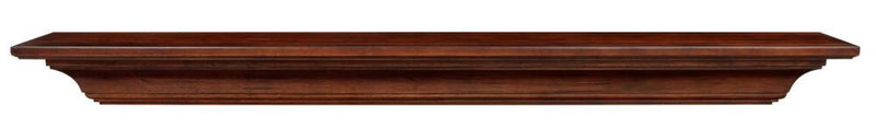 Pearl Mantels Homestead Wood Fireplace Mantel Shelf in Antique Finish 2
