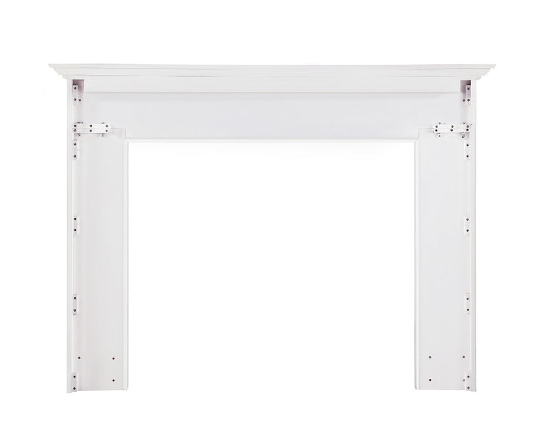 Pearl Mantels Marshall Fireplace Mantel back 2