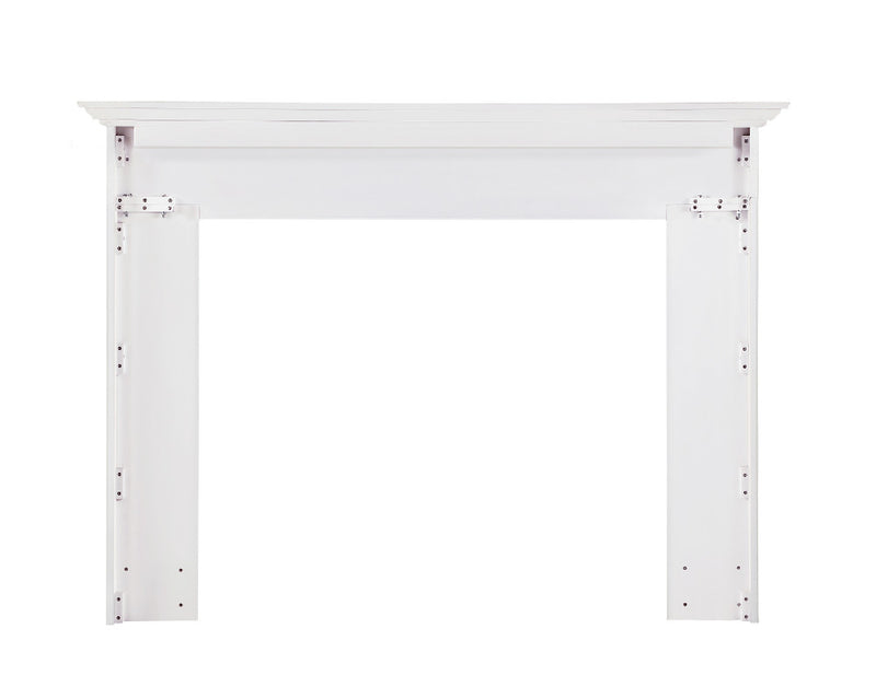 Pearl Mantels Marshall Fireplace Mantel back