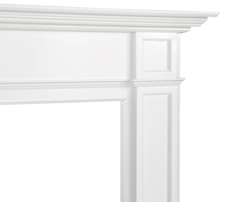 Pearl Mantels Marshall Fireplace Mantel right corner (2)