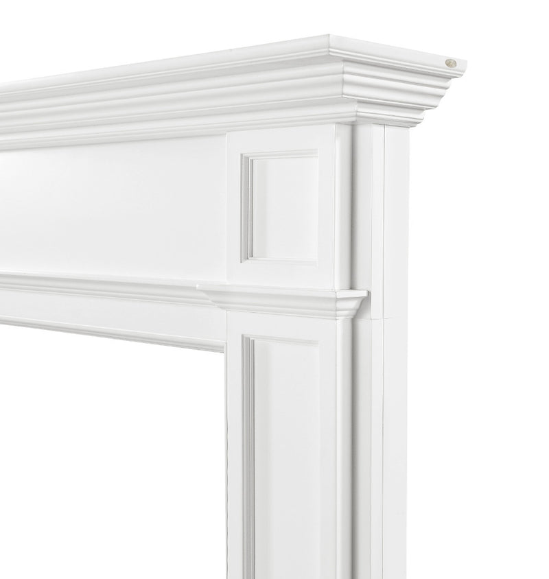 Pearl Mantels Marshall Fireplace Mantel right corner