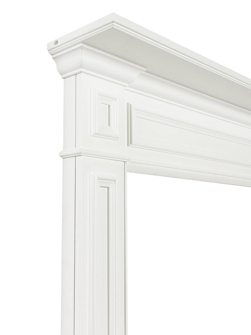 Pearl Mantels Mike Fireplace Mantel Surround corner detail