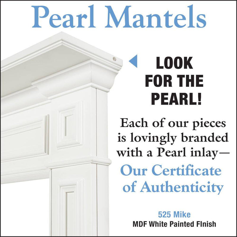 Pearl Mantels Mike Fireplace Mantel Surround detail