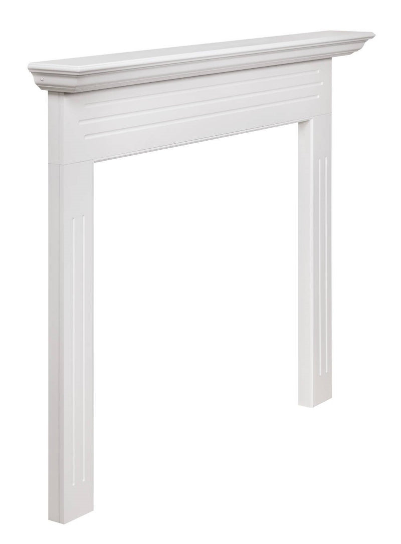 Pearl Mantels Newport Fireplace Mantel Surround angle