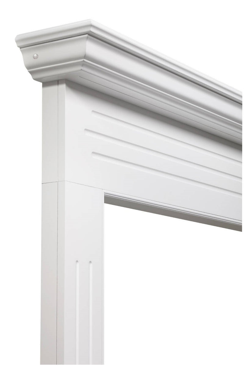 Pearl Mantels Newport Fireplace Mantel Surround angle detail