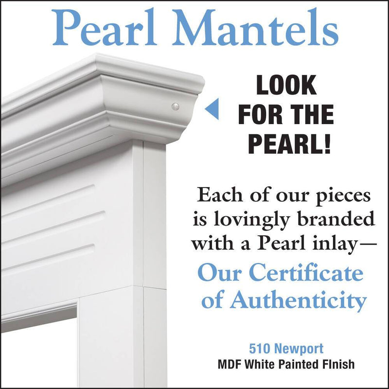 Pearl Mantels Newport Fireplace Mantel Surround detail
