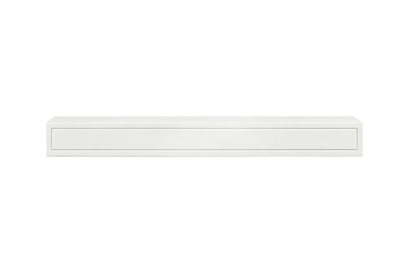 Pearl Mantels Sarah Fireplace Mantel Shelf in White Paint 2