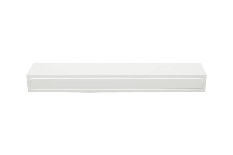 Pearl Mantels Sarah Fireplace Mantel Shelf in White Paint top