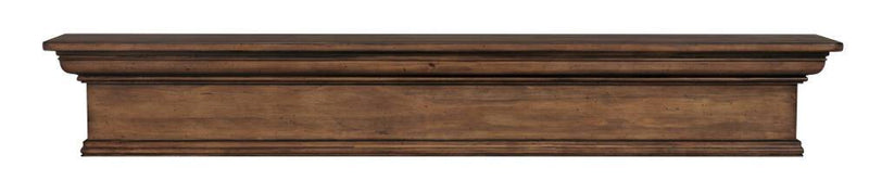 Pearl Mantels Savannah Wood Fireplace Mantel Shelf in Taos Finish 2