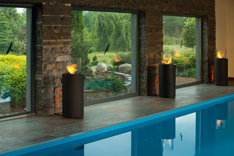 Planika Totem Commerce Indoor / Outdoor Ethanol Fireplace