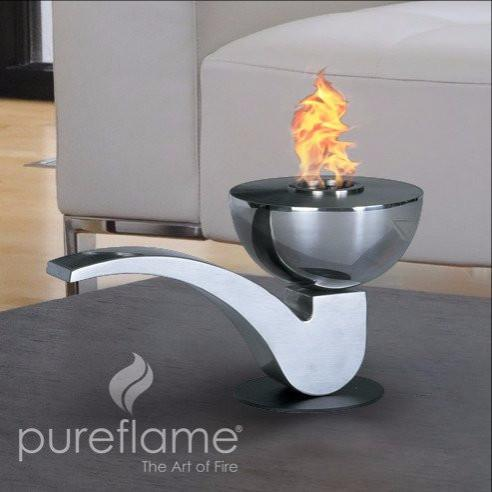"Pureflame 12"" Table-Top Bio-Ethanol Fireplace Pipe"