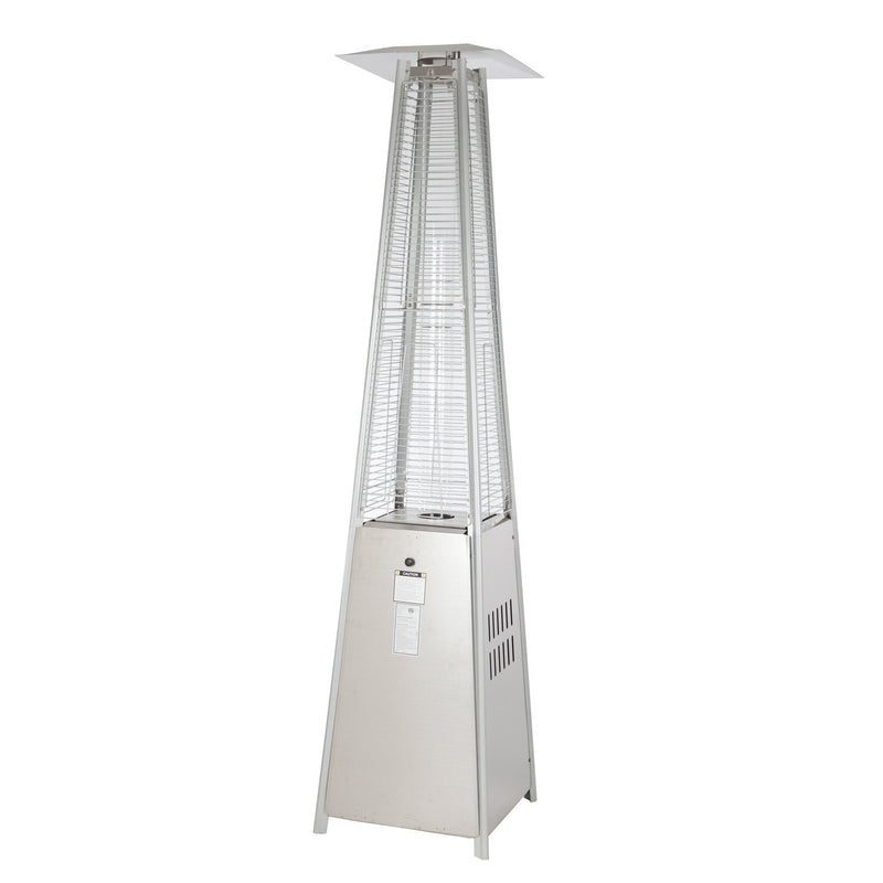 Stainless Steel Pyramid Flame Heater