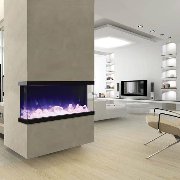Amantii 3 sided view 50 inch Electric Fireplace 50-TRU-VIEW-XL