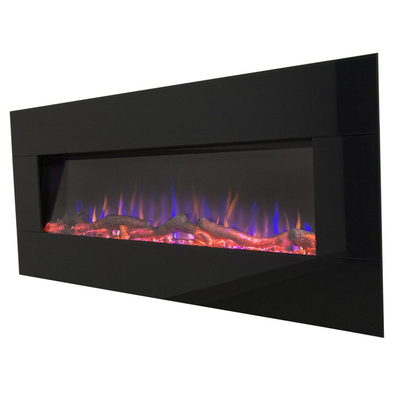 Touchstone AudioFlare Wall Mount 50 inch Electric Fireplace in Black contemporary colors 2