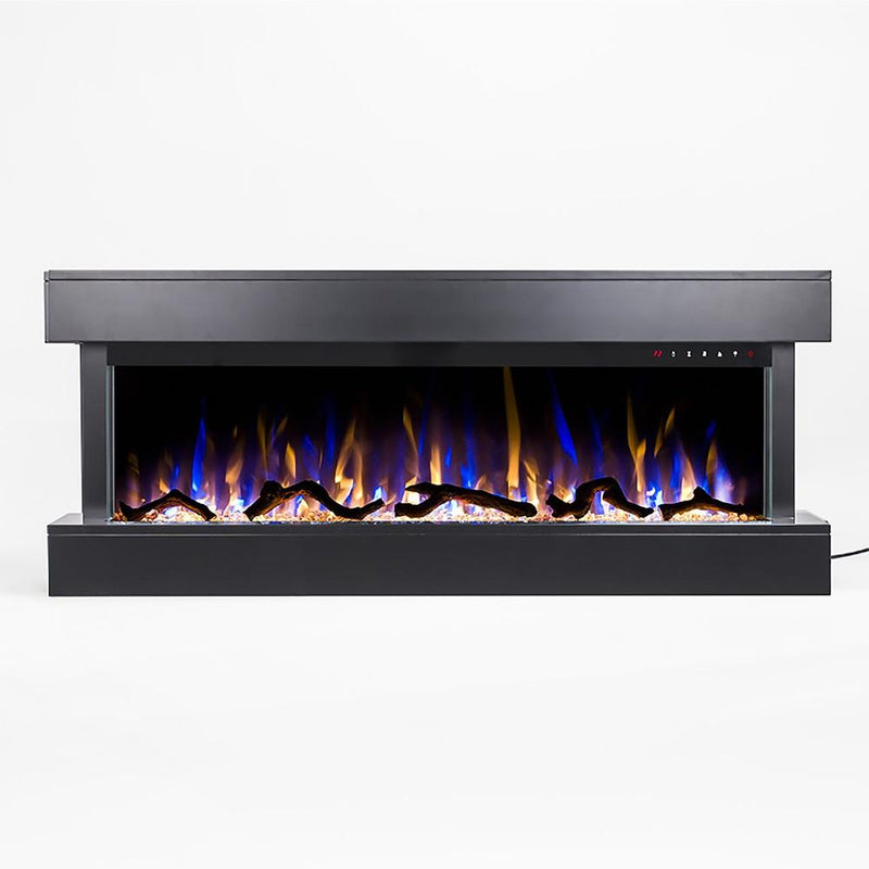 Touchstone Chesmont Wall Mount 50 inch Electric Fireplace in Black detail