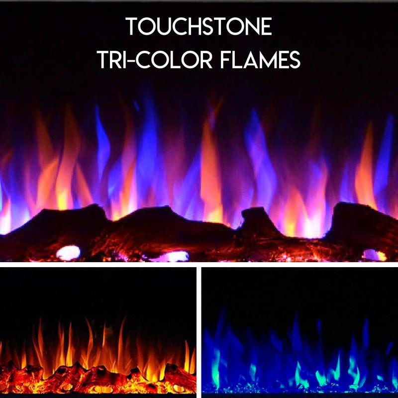 Touchstone Electric Fireplace Multicolor Flames
