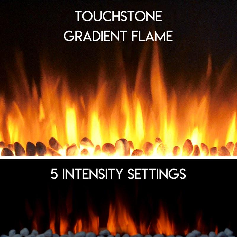 Touchstone Electric Fireplace Gradient Flame