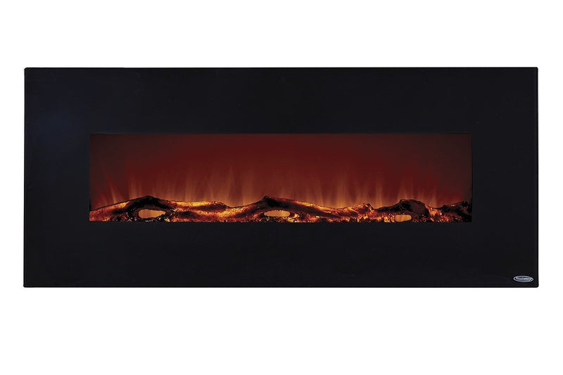 Touchstone Onyx Wall Mount 50 inch Electric Fireplace in Black 3
