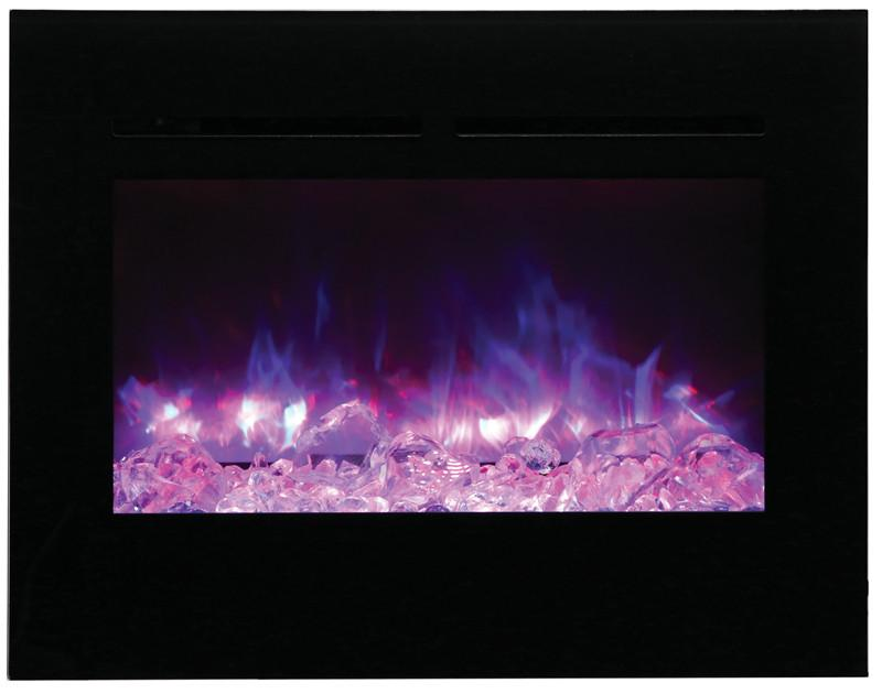 "Amantii 30"" Zero Clearance Electric Fireplace ZECL-30-3226-BG"