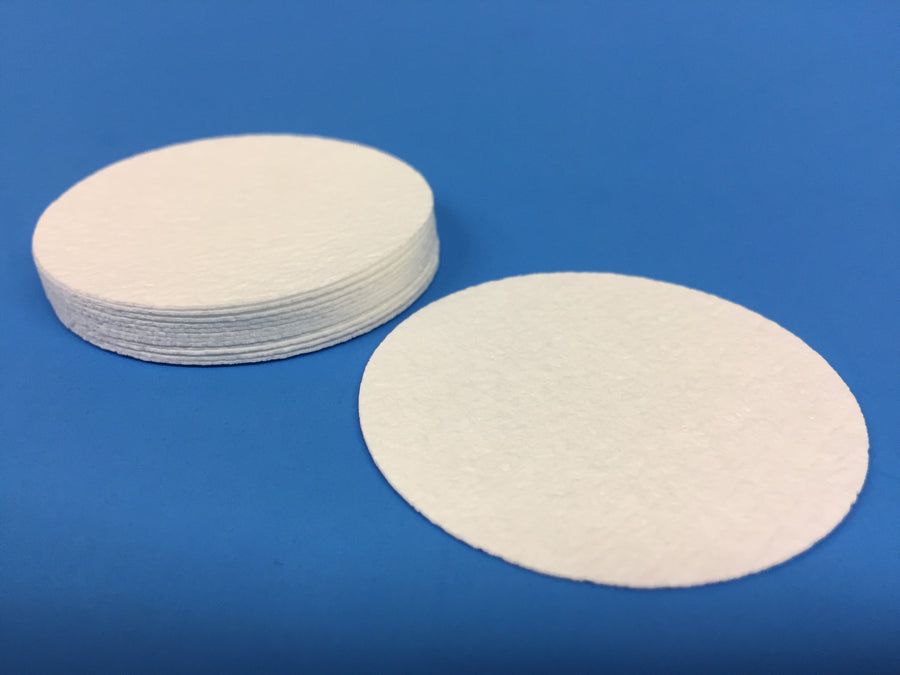 AccuDisk™ - Washed, Dried, and Weighed FVS Glass Fiber Filters for Solids Testing- 100 per box