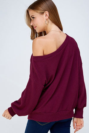 Plum Blessed Sweater