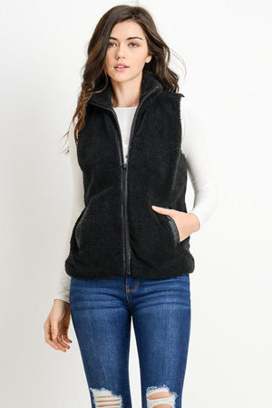 Country Roads Fleece Vest