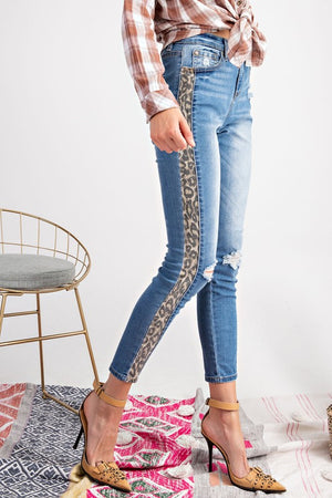 Touch of Leopard Jeans