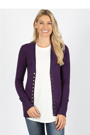 Snap Cardigan - More Colors