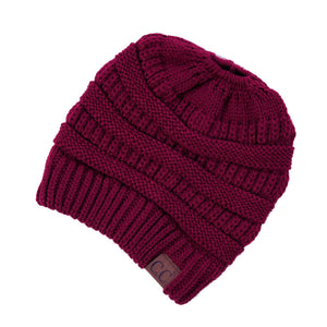 Messy Bun CC Beanie - More Colors
