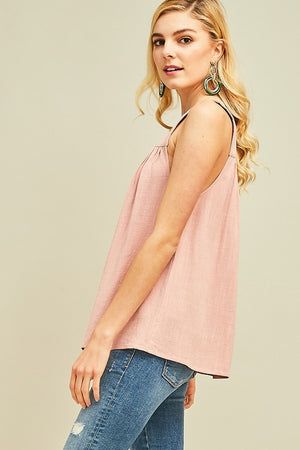 Linen For The Win Top