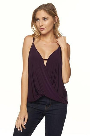 Stunning in Plum Top