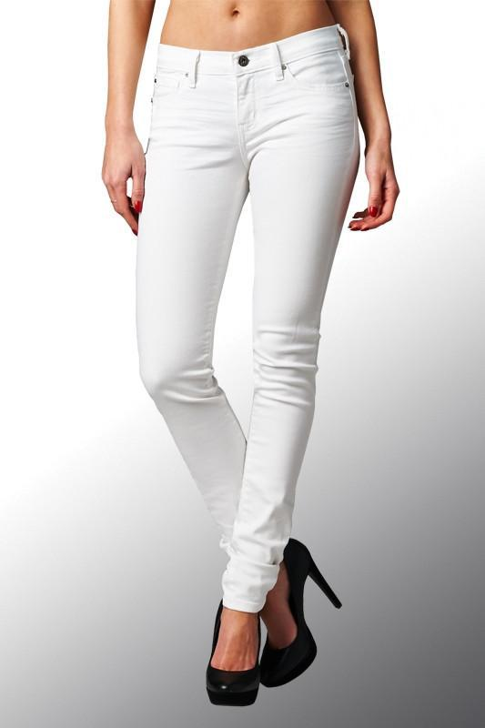 Perfectly White Skinny Jeans