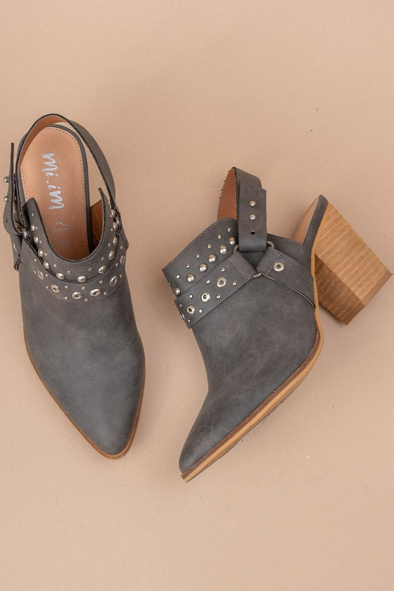 Philomena Studded Booties