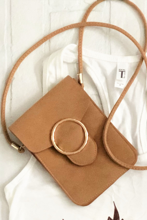 Little Suede Crossbody *RESTOCKED*