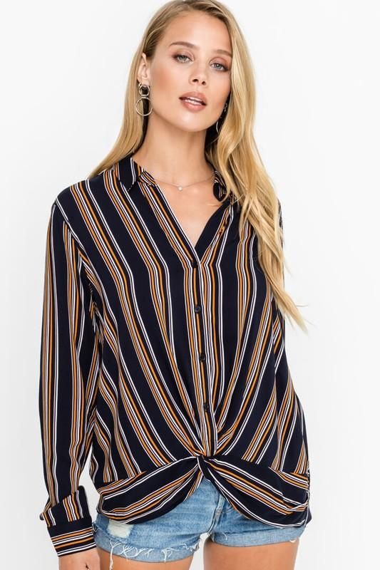 All Striped Up Top