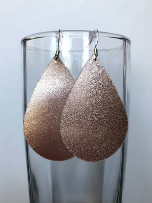 Strawberry Champagne Earrings