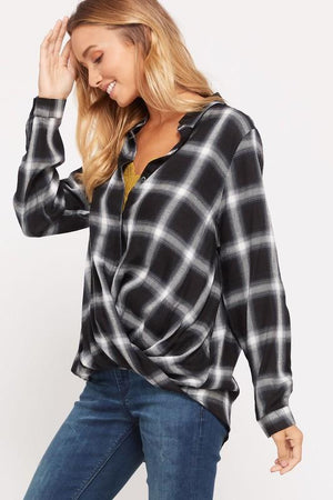 Make Mine Plaid Top