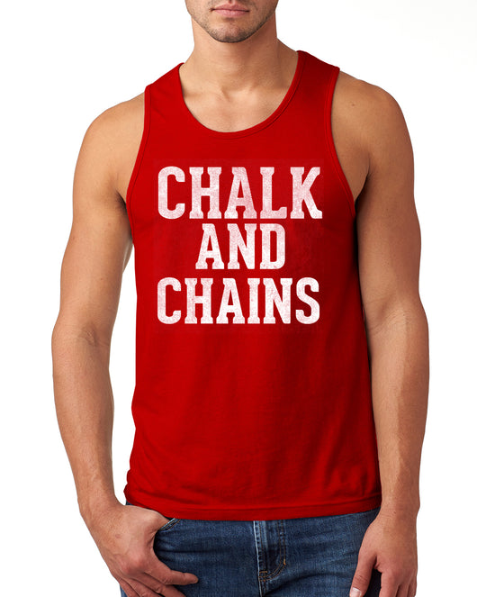 Chalk and Chains Muscle Tank