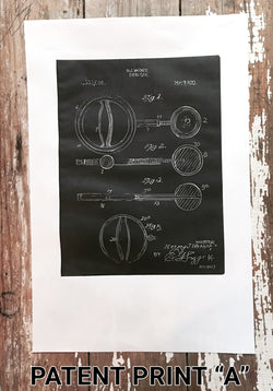 Vintage Dumbbell Patent Prints