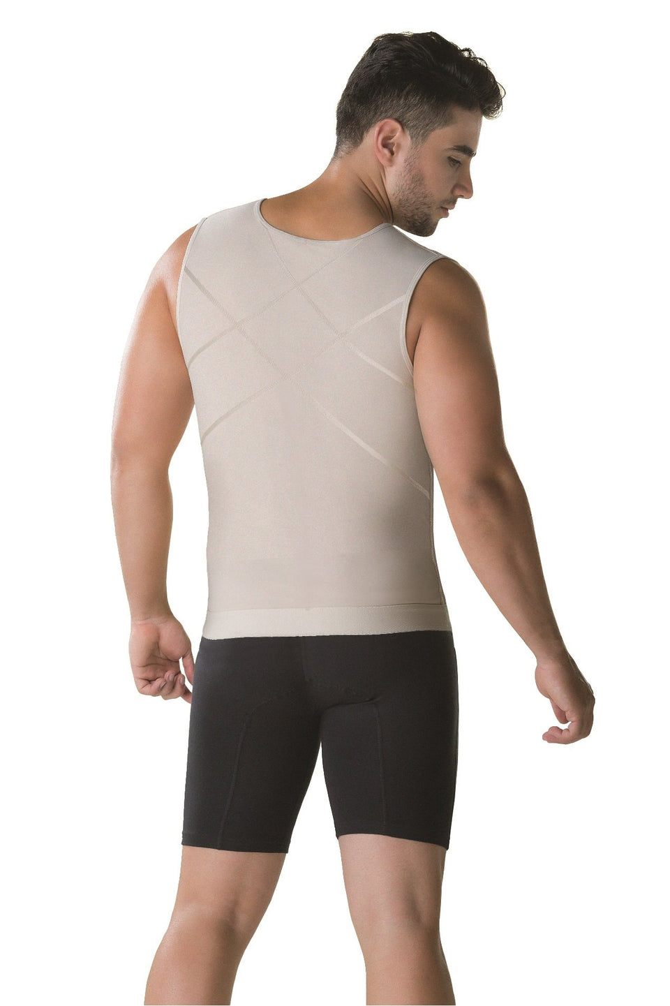 Perfect Shape Mens Slimming Body Shaper with Zipper