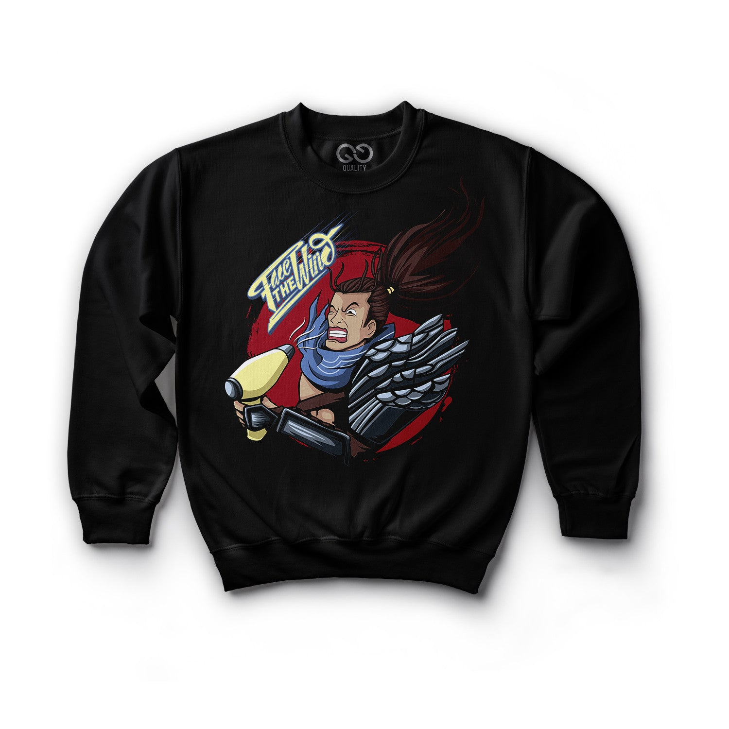 YASUO FACE THE WIND (Sweatshirt)