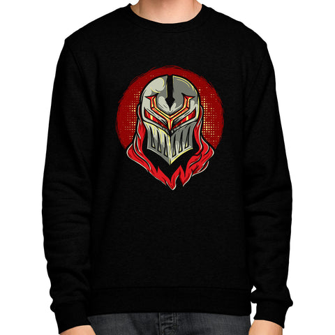 Zed Mask (Sweatshirt) - GG Apparel