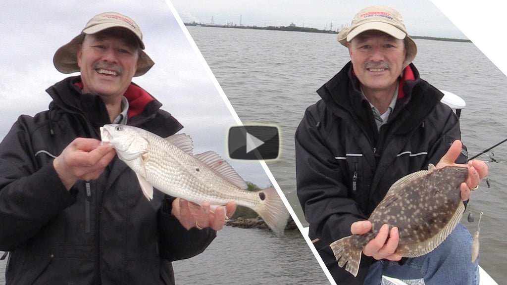 Catching Texas Redfish and Flounder - With Bonus Cold Front Fishing Tips