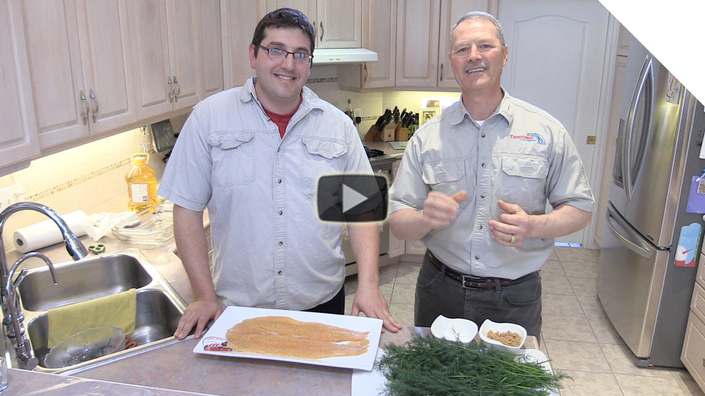 Gravlax Recipe - Quick, Simple, Easy & Delicious (Salmon or Trout)