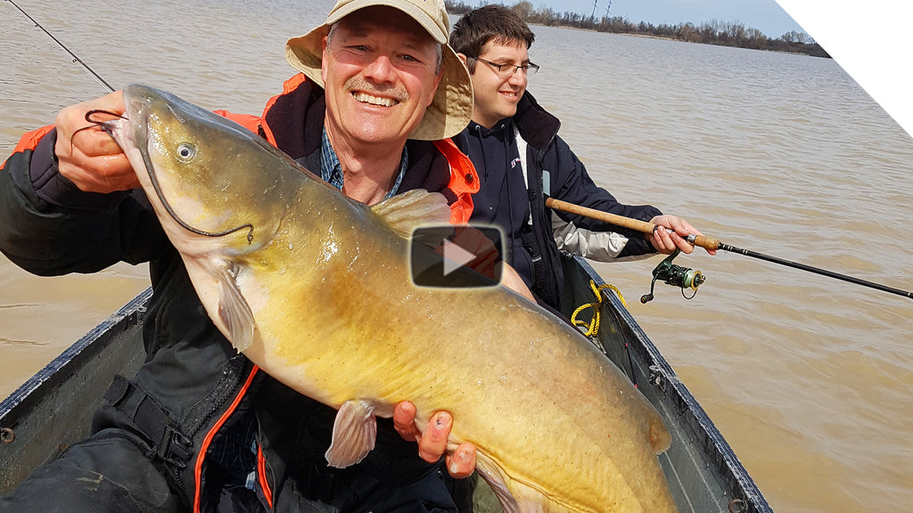Big Channel Catfish using Circle Hooks