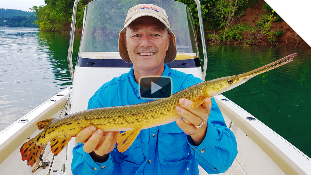 Gar Fishing - Catching Longnose Gar