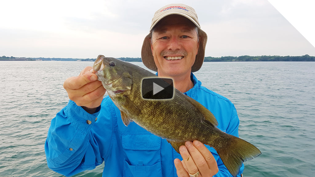 Lake Ontario Smallmouth Bass Fishing - Jigging for Smallmouth Bass
