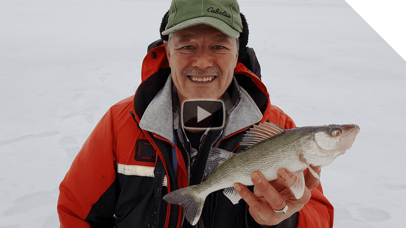 Chautauqua Lake - Ice Fishing for Perch and Walleye