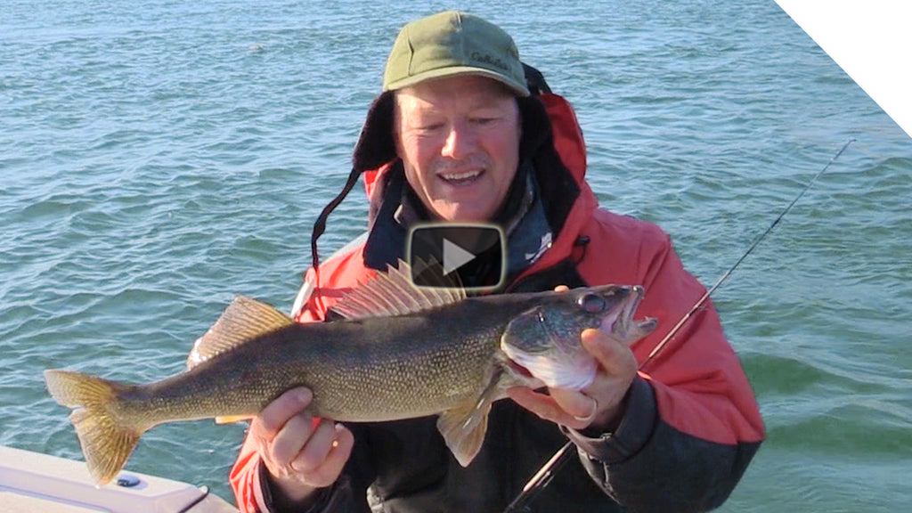 Jigging for Walleye with Low-Profile Baits