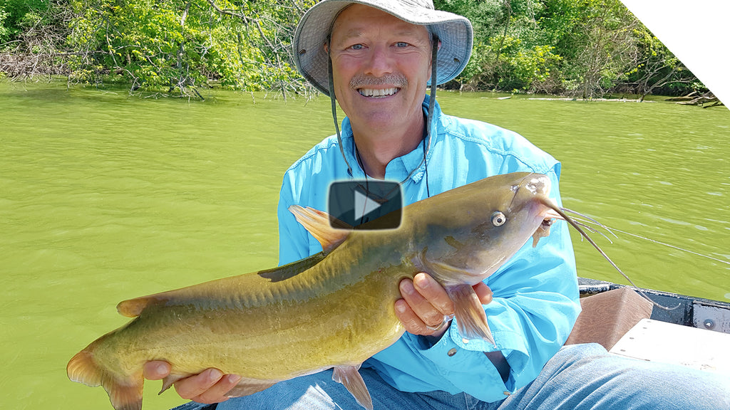 Fish Finder Rig & Drag Tips - How to Catch Channel Catfish